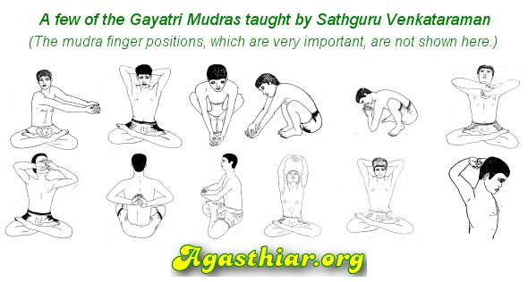Gayatri Mantra Mudra Yoga Method Gayatri Thapas Preface Agasthiar Org