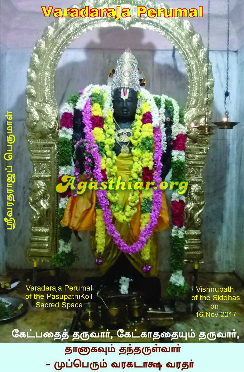 Vishnupathi - 16 November 2017 - Varadaraja Perumal
